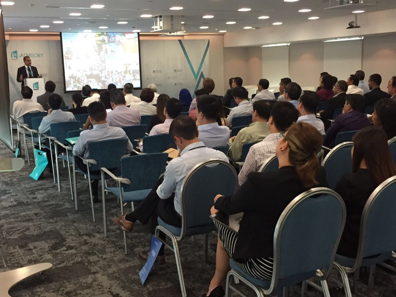 N Gage Consulting CEO seminar talk organized by IE Singapore